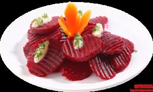 cum prepari salata de sfecla rosie